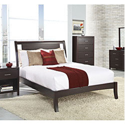 Floating Panel California King-size Sleigh Bed -