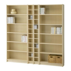 IKEA of Sweden/Gillis Lundgren - BILLY/BENNO Bookcase combination - Bookcase combination, birch veneer