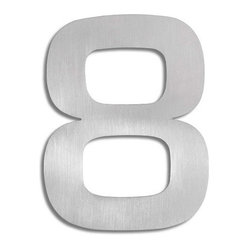 Signo Stainless Steel House Number
