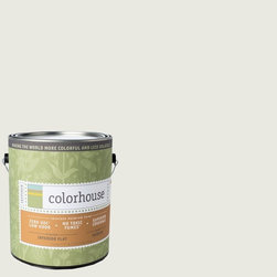 Inspired Flat Interior Paint, Imagine .06, Gallon - Colorhouse paints are zero VOC, low-odor, Green Wise Gold certified and have superior coverage and durability. Our artist-crafted colors are designed to be easy backdrops for living. Colorhouse paints are 100% acrylic with no VOCs (volatile organic compounds), no toxic fumes/HAPs-free, no reproductive toxins, and no chemical solvents.