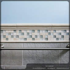 Eclectic Tile by dRemodeling