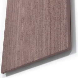 Gray Wenge Wood Wall Art - Beautiful Gray Wenge Wood Wall Art perfect for any contemporary or modern space.