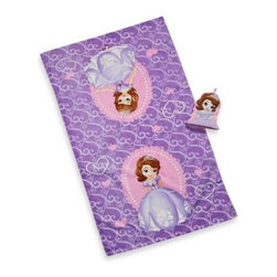 Disney - Disney Sofia the First Bath Towel and Wash Mitt Set - This bath towel and wash mitt set is perfect for your little princess, featuring a bath towel with a beautiful Sofia the First print and a shaped wash mitt.