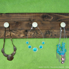 Eclectic Hooks And Hangers by Atelier Unik-Art