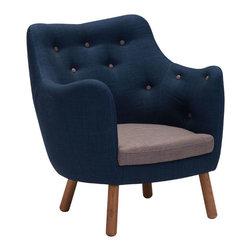 Liege Chair - Polyblend & Wood.
