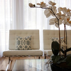 Eclectic Family Room by The Couture Rooms