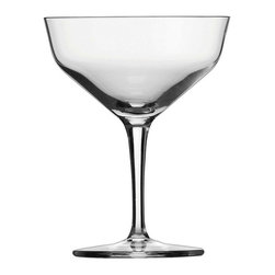 Schott Zwiesel - Schott Zwiesel CS Basic Bar Contemporary Martini Glasses - Set of 6 Multicolor - - Shop for Drinkware from Hayneedle.com! Olive your martinis will taste better drank from the Schott Zwiesel CS Basic Bar Contemporary Martini Glasses - Set of 6. The classic sleek martini glass gets an update. The amazing beauty of the mouth-blown Tritan crystal glass is the perfect finish to your martini whether dry or dirty.About Fortessa Inc.You have Fortessa Inc. to thank for the crossover of professional tableware to the consumer market. No longer is classic high-quality tableware the sole domain of fancy restaurants only. By utilizing cutting edge technology to pioneer advanced compositions as well as reinventing traditional bone china Fortessa has paved the way to dominance in the global tableware industry.Founded in 1993 as the Great American Trading Company Inc. the company expanded its offerings to include dinnerware flatware glassware and tabletop accessories becoming a total table operation. In 2000 the company consolidated its offerings under the Fortessa name. With main headquarters in Sterling Virginia Fortessa also operates internationally and can be found wherever fine dining is appreciated. Make sure your home is one of those places by exploring Fortessa's innovative collections.