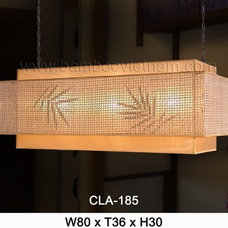 Asian Ceiling Lighting by bamboovietnam