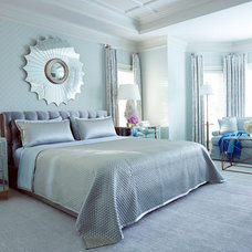 Traditional  Glamorous Blue Home Decorating - House Beautiful