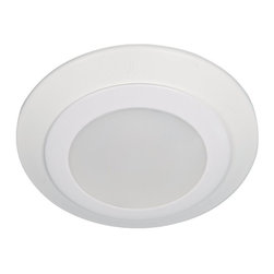 """Sea Gull Lighting - Sea Gull Lighting 14602S-15 Traverse 4"""" LED 2700K Retrofit Recessed Light - The 4"""" Traverse LED Downlight delivers the performance of incandescent downlights while reducing energy and operating cost by 80% and requiring virtually no maintenance. Ideal for general lighting in residential and commercial applications, the damp rated Traverse can be used for shower applications as well. The Traverse LED downlight is also an excellent alternative to costly fire rated recessed housings."""