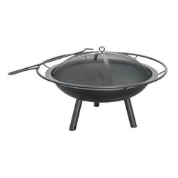 Landmann USA 28240 Halo Fire Pit - A fire pit is a great focal point for outdoor entertaining, and it can be the center of a conversation zone in your yard.