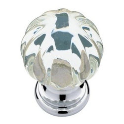 Liberty Hardware - Liberty Hardware P30104-CHC-C Design Facets Cab HW-Liberty 1.24 Inch Round Knob - Add a look of sophistication and luxury to kitchen or bath cabinets with the Faceted Acrylic knob. Multiple finishes available. Installs easily with included hardware and is a noticeable change for any cabinetry.. Width - 1.24 Inch,Height - 1.24 Inch,Projection - 1.65 Inch,Finish - Chrome And Clear,Weight - 0.15 Lbs