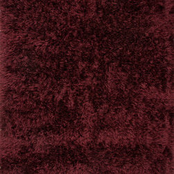 Jaipur Rugs - Shag Solid Pattern Polyester Red/ Area Rug (2 x 3) - Bring contemporary flare into any space with Verve. An ultra soft shag hand-woven of fine gauge 100% polyester fibers, the collection offers amazing comfort underfoot. Thoughtfully crafted in a palette of rich crimson and a spectrum of sophisticated neutrals, there are options that can work with a variety of styles.