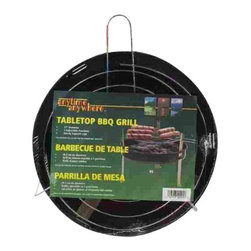 "Kay Home Products - 12"" Round Table Top Barbecue Grill - 12"" Round Table Top Barbecue Grill"