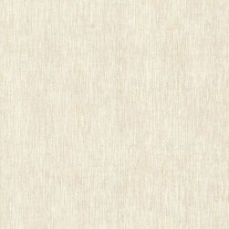 Brewster Home Fashions - Chandra Champagne Ikat Texture Wallpaper Bolt - This glittery stria wallpaper lends a luxurious sophistication to your home in a romantic champagne gold. Like a fine fabric spun from raw silk with metallic threads.