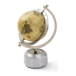 Flight Path Globe - Gazing at a globe offers endless entertainment. It lets you remember where you've been in this vast world and allows you to dream up your next wild adventure. Place on your desk as a beautiful and inspiring piece to liven up your d̩cor.