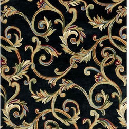 Home Decorators Collection - Corinth Area Rug - Corinth Area Rugs, from the Montaigne Collection, are extremely thick and dense hand-tufted wool rugs. They are sure to add distinctive style to any room.Curly vines meander and intertwine throughout the Corinth Area Rug. The neutral background makes the perfect canvas to display this colorful pattern of foliage.You will love these colorful area rugs that are carefully crafted of high-quality 100% wool. Wool rugs are a natural choice when you want the best quality in a floor covering because they offer a thick and dense texture, and they're extremely durable. Canvas over latex backing adds to the durability. Order a Corinth floor covering today to enhance your home's decor.