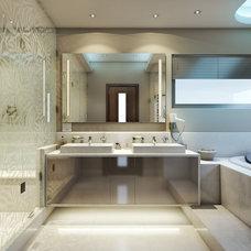 Modern  by Bathroom By Design