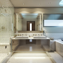 modern bathroom by Bathroom By Design