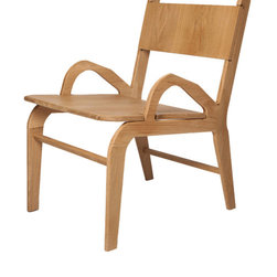 Ethan Abramson - Irving Armchair - A larger version of the original Irving Chair, The Irving Armchair's perfectly slanted back and low placed arms make this chair as comfortable as it is good looking.