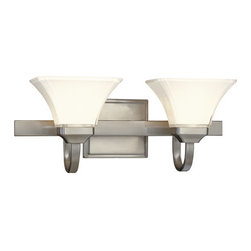 Minka Lavery - Minka Lavery ML 6812 2 Light Bathroom Vanity Light from the Transitional Bath Ar - Two Light Bathroom Vanity Light from the Transitional Bath Art CollectionFeatures:
