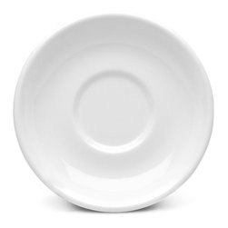 Elite Global Solutions - White Urban Naturals 5 5/8 Dia x 1 H Coffee Saucer - Case of 6 - DescriptionsEarthen colors meet city chic in this trendsetting dinner ware collection. Urban Naturals palette will make mouths water almost as much as the cuisine you present on it