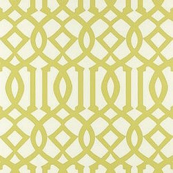 Imperial Trellis Wallpaper, Citrine - I think it's safe to say that Kelly Wearstler's Imperial Trellis has crossed over from a trend to a classic.