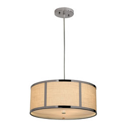 Trend Lighting - Trend Lighting TP7599 Polished Chrome PendantButler Collection - Features: Trend Lighting began thirty years ago with the simple vision of providing the lighting industry with the finest made products available on the market.