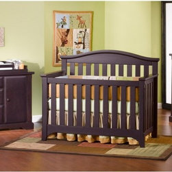 Child Craft - Child Craft Hawthorne Lifetime 3-in-1 Convertible Crib Collection - IK109 - Shop for Cribs from Hayneedle.com! Your baby's needs will change but his furniture doesn't have to. This collection is designed to grow up with your baby. Durable wood construction means that these pieces will withstand the wear and tear of child's play and survive changing fashion trends. And the crib (which meets government safety standards and is certified by the Juvenile Products Manufacturers' Association) turns into a toddler bed and full bed as he grows from infant to teen. Tons of drawers lots of shelving and a side cabinet mean he'll never run out of room for all his stuff! Dressing kit (changer segment) is sold separately. Scroll below to Product Accessories to add to cart. Dresser dimensions: 50.88W x 21D x 35H inches Chest dimensions: 36.75W x 21D x 44.75H inches Crib dimensions: 57.75W x 29.88D x 48.75H inches Toddler guard rail and full-size conversion rails/slats sold separately. Scroll below to Product Accessories to purchase About Child CraftFounded in 1911 in Salem Indiana Child Craft Industries is a family-owned American company synonymous with quality and value. Manufacturer of cribs and children's furniture the company is very strongly committed to product standards and safety and combines beautiful design and innovative features with sturdy construction and superior craftsmanship. The principles of quality and integrity that served to guide the company for nearly 100 years remains unchanged even today and Child Craft continues to be a respected name in children's furniture.