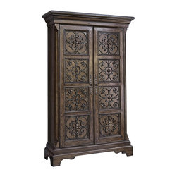 Ambella Home - New Ambella Home Armoire Madrid AH-959 - Product Details