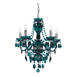 AF Lighting - Af Lighting 8525-5H Angelo:Home Fulton Chandelier - AF Lighting 8525-5H angelo:HOME  Fulton Chandelier