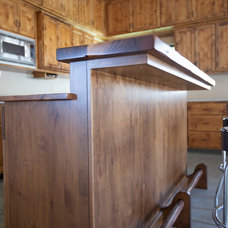 Traditional Garage And Shed by Timberwood Custom Cabinets