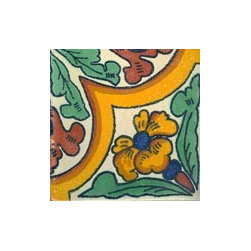 Handpainted Ceramic Grand Tile Collection - Item TG000