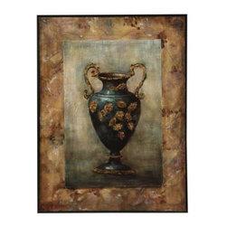 Bassett Mirror - Grecian Urn II Canvas Art - Grecian Urn II Canvas Art by Bassett Mirror