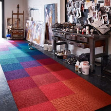 Buy Made You Look-Red carpet tile by FLOR