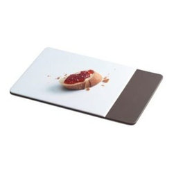 Blomus - DESA Breakfast Board by Blomus - The Blomus DESA Breakfast Board puts a modern twist on the standard plate, plus with its sleek, flat design you'll want to use it for more than just breakfast. Blomus, headquartered in Germany, specializes in the design and manufacture of beautifully engineered home and office accessories in modern stainless steel styles.