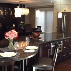 Traditional Kitchen by Galle Construction Inc