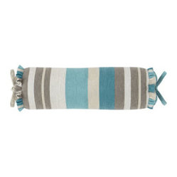 Striped Neckroll Pillow
