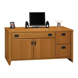 Bush - Bush Mission Pointe Credenza - Bush - Computer Desks - WC91329