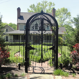 Shop Wrought Iron Gate Products On Houzz