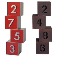 Contemporary House Numbers by Yard Art