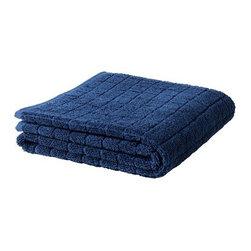 ÅFJÄRDEN Bath sheet - Bath sheet, dark blue