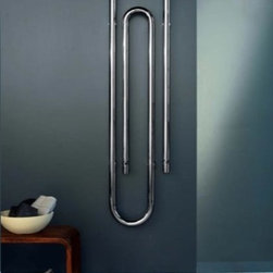 Nameeks - Nameeks Scirocco GRAFFE 170- 9010 - Nameeks Hydronic Towel Warmer - GRAFFE 170- 9010