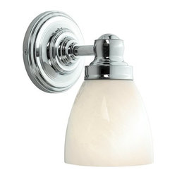 "World Imports - World Imports WI8025 Reversible Wall Sconce Bath Collection - 1 Light Wall SconceBack Plate: 5""D"
