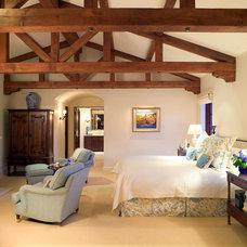 Mediterranean Bedroom by Smith Firestone Associates