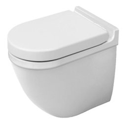 Duravit Starck 3 Toilet Wall Mounted Washdown In White Alpin - 2226090000 -