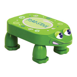 "Levels of Discovery - Toad Stool - Step or sit on the stool to hear the toad croad croak (with the help of an IC chip in the base)Stool ""croaks"" - IC chip. All products have instructions included for assembly. All products have instructions included for assembly. ."