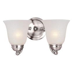 Maxim Lighting - Basix 2-Light Bath Vanity - Basix 2-Light Bath Vanity
