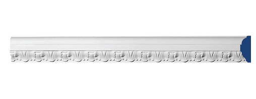 "Inviting Home - Dundee Decorative Panel Molding - Dundee decorative panel molding 2-1/4""H x 3/4""P x 7'10""L design repeat - 1""4 piece minimum order required This panel molding is made from high density polyurethane. The front surface of this molding has extra durable and smooth and is pre-primed with water-based white paint. POlyurethane is lightweight durable and easy to install using common woodworking tools. Metal dies were used for consistent quality and perfect part to part match for hassle free installation. This molding has sharp deep and highly defined design. This panel molding can be finished with any quality paints."