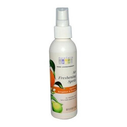 Aura Cacia Air Freshening Spritz Bergamot And Orange - 6 Fl Oz - Aura Cacia Air Freshening Spritz Bergamot and Orange Description:
